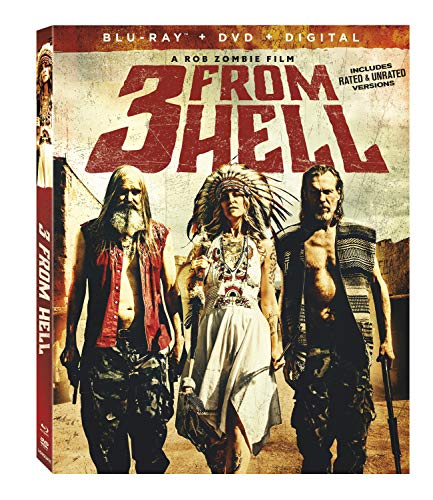3 From Hell Haig Zombie Moseley Blu Ray DVD Dc Nr
