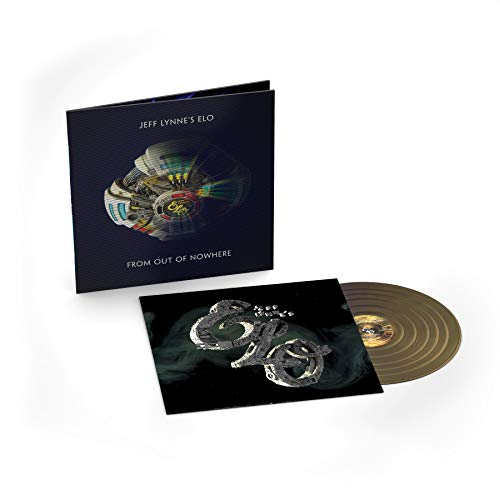 Jeff Lynne's Elo From Out Of Nowhere (gold Vinyl) Lenticular Cover