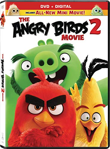 The Angry Birds Movie 2 Angry Birds Movie 2 DVD Dc Pg