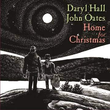 Daryl Hall & John Oates Home For Christmas Translucent Red Vinyl Bf Rsd Exclusive Ltd. 1000