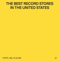 Vinyl Me Please Best Record Stores In The United States 11 X 11 Book Rsd Bf Exclusive