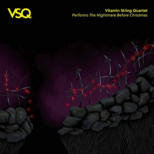 Vitamin String Quartet The Nightmare Before Christmas Yellow Vinyl Rsd Bf Exclusive