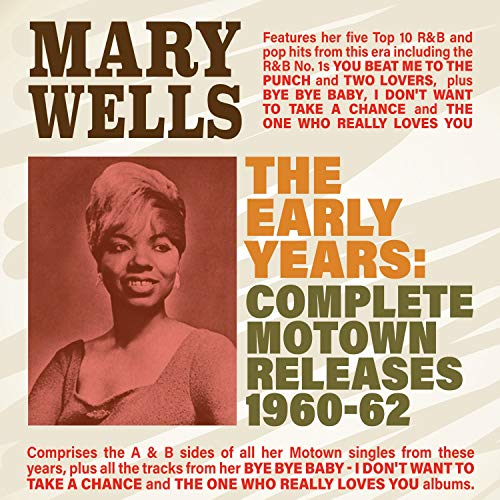 Mary Wells The Early Years Complete Motown Releases 1960 62