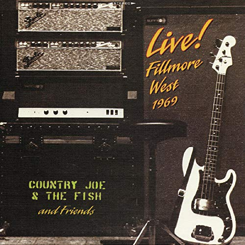 Country Joe & The Fish & Friends Live! Fillmore West 1969 (limited 50th Anniversary) 2lp Yellow Vinyl Edition