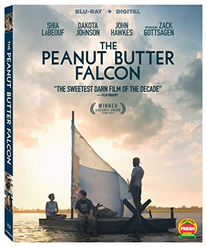 The Peanut Butter Falcon Labeouf Johnson Gottsagen Blu Ray Dc Pg13