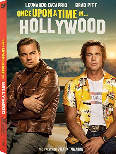 Once Upon A Time In Hollywood Dicaprio Pitt Robbie DVD Dc R
