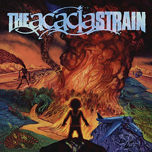 The Acacia Strain Continent (orange In Blue Vinyl) Opaque Orange In Transparent Blue