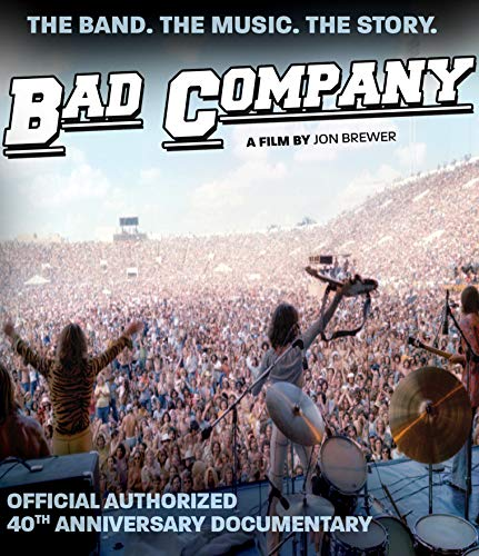 Bad Company Official Authorized 40th Anniversary Documentary Blu Ray Nr