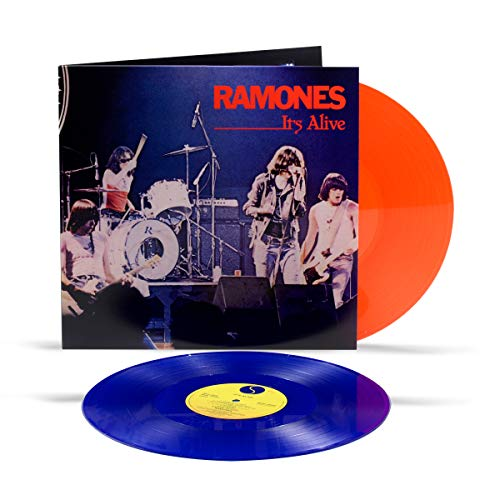 Ramones It's Alive (live) (red Blue Vinyl) 2lp Syeor Exclusive 2020