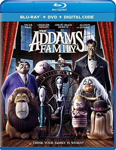 The Addams Family (2019) Addams Family Blu Ray DVD Dc Pg