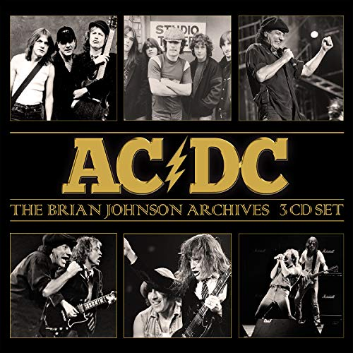 Ac Dc The Brian Johnson Archives 3 CD
