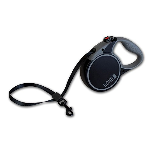 kong-terrain-retractible-leash-black