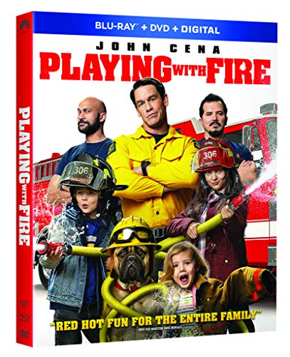 Playing With Fire Cena Key Leguizamo Blu Ray DVD Dc Pg