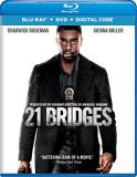 21 Bridges Boseman Miller Simmons Blu Ray DVD Dc R
