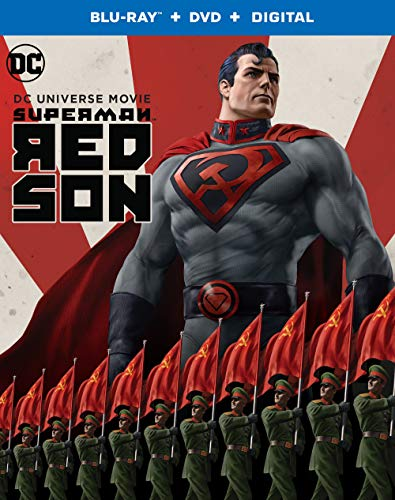 Superman Red Son Superman Red Son Blu Ray DVD Dc Pg13