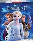 Frozen 2 Disney Blu Ray DVD Dc Pg