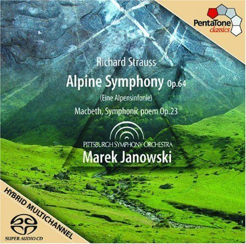 Richard Strauss Alpine Symphony Macbeth Sacd Hybrid