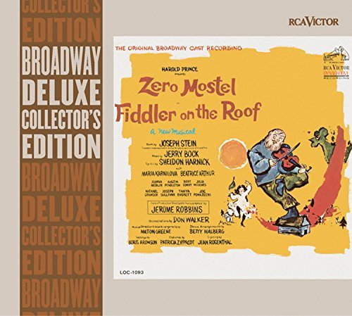 Fiddler On The Roof Original Cast Recording Remastered Incl. Bonus Tracks Liner Notes