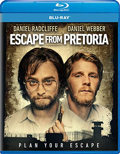Escape From Pretoria Radcliffe Webber Blu Ray Pg13