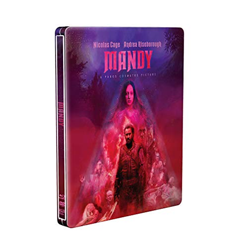 Mandy Cage Riseborough Roache Blu Ray Steelbook