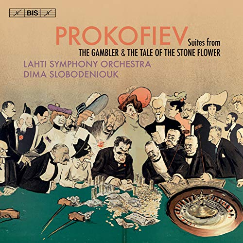 Prokofiev Lahti Symphony Orc Suites From The Gambler