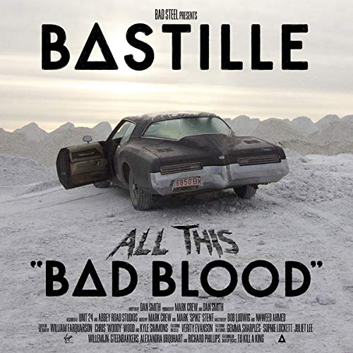 Bastille All This Bad Blood 2 Lp Rsd Exclusive Ltd. 1 500