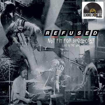 Refused Not Fit For Broadcasting Live At The Bbc Crystal Clear Vinyl Rsd Exclusive Ltd. 3 500