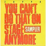 Frank Zappa You Can't Do That On Stage Anymore (sampler) 2 Lp 1 Transparent Red + 1 Transparent Yellow Vinyl Rsd Exclusive Ltd. 5 000