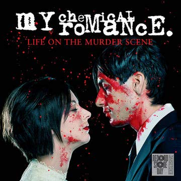 my-chemical-romance-life-on-murderpa-clear-vinyl-with-red-splatter-rsd-exclusive-ltd-8000