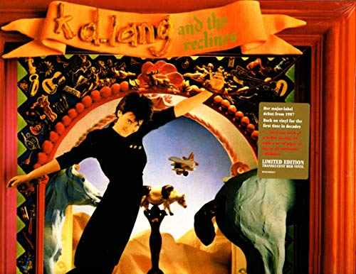 K.D. Lang & The Reclines Angel With A Lariat Translucent Red Vinyl Rsd Exclusive Ltd. 3000