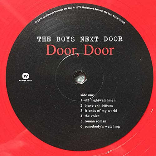 the-boys-next-door-door-door-red-vinyl-rsd-exclusive-ltd-2250
