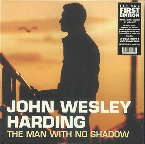John Wesley Harding The Man With No Shadow 2 Lp Cream Shadow & White Shadow Vinyl Rsd Exclusive Ltd. 1000
