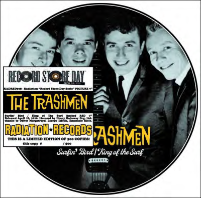 The Trashmen Surfin' Bird King Of The Surf
