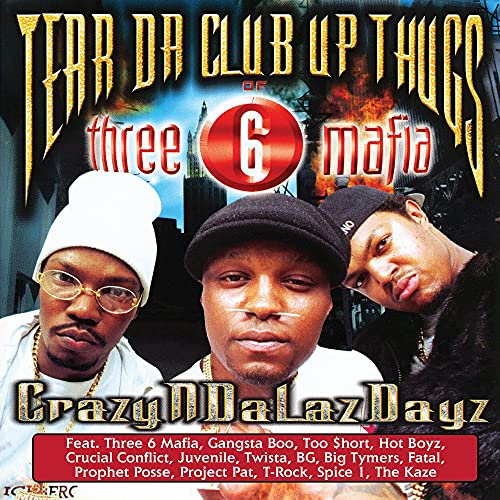 tear-da-club-up-thugs-of-three-6-mafia-crazyndalazdayz-2-lp-splatter-vinyl-rsd-exclusive