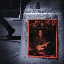 Dave Davies Rock Bottom Live At The Bottom Line (remastered 20th Anniversary Limited Edition) 2 Lp 1 Red 1 Silver Vinyl Rsd Exclusive Ltd. 1000