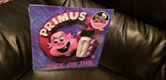 Primus Suck On This Translucent Blue Vinyl Rsd Exclusive Ltd. 5000