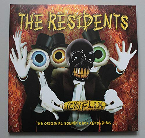 the-residents-icky-flix-the-original-soundtrack-orange-yellow-vinyl-rsd-exclusive-lp