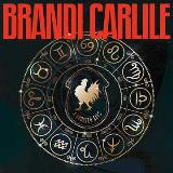 Brandi Carlile A Rooster Says Yellow Vinyl With Black Splash & Etching On Side B Rsd Exclusive Ltd. 12000