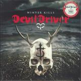 Devildriver Winter Kills Red White Split Color Vinyl Hand Numbered Rsd Exclusive Ltd. 1400