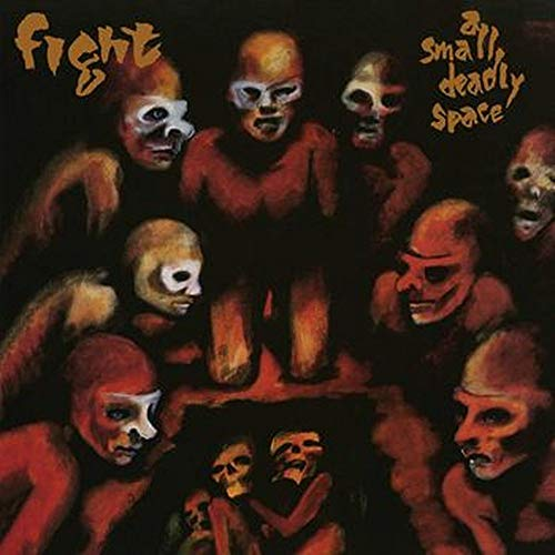 Fight A Small Deadly Space 3 Lp Red & Black Marble Vinyl Edition Rsd Exclusive Ltd. 1750