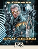 Split Second Hauer Cattrall Duncan Pollard Blu Ray Collector's Edition R