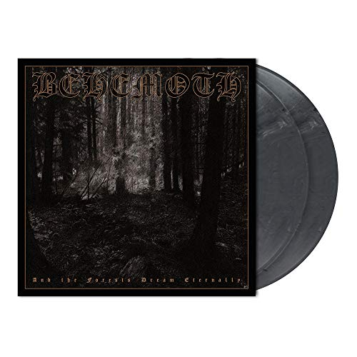 Behemoth And The Forests Dream Eternally 2 Lp Cool Gray Marbled Vinyl