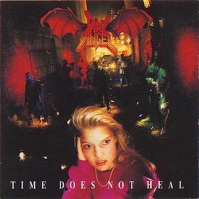 Dark Angel Time Does Not Heal (red Yellow Vinyl) Indie Exclusive Ltd To 300