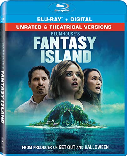 Fantasy Island (2020) Pena Q Hale Blu Ray Dc Unrated & Theatrical Versions
