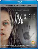 Invisible Man (2020) Moss Jackson Cohen Blu Ray DVD Dc R