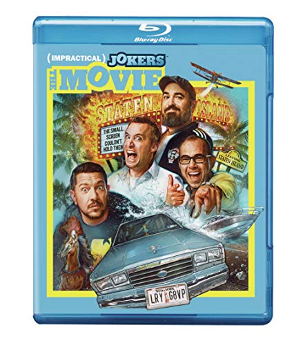 Impractical Jokers The Movie Quinn Gatto Murray Vulcano Blu Ray Dc Pg13