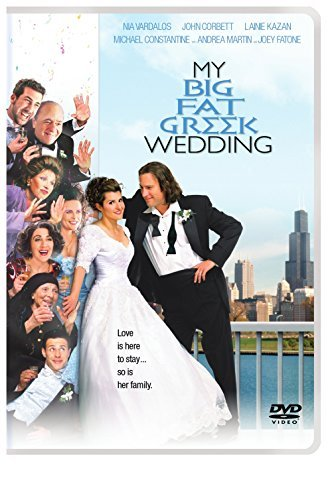 My Big Fat Greek Wedding Vardalos Corbett Constantine DVD Pg
