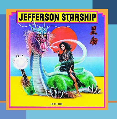 Jefferson Starship Spitfire CD R
