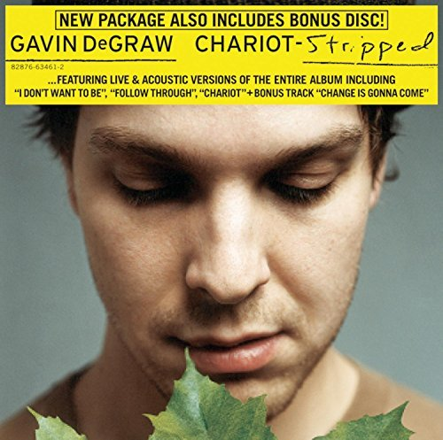 Gavin Degraw Chariot Stripped 2 CD Set