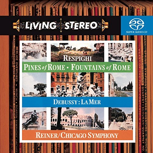 Respighi Debussy Pines Of Rome La Mer Fountains Sacd Reiner Chicago So